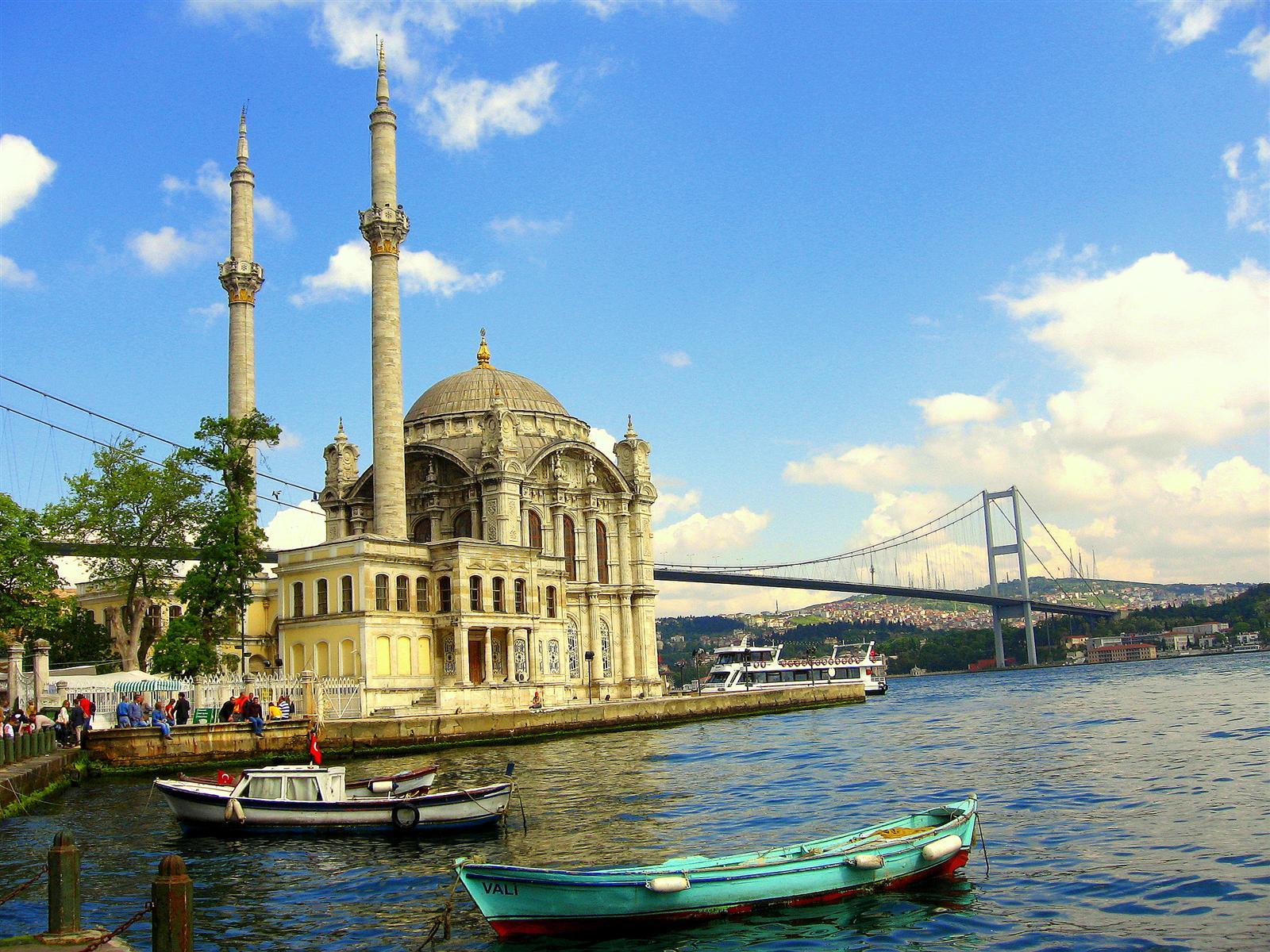 Ortakoy Bosphorus Bridge - Istanbul